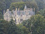 Torosay kasteel aan de Duart baai, Schotland