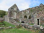 St Ronan's kapel, Iona, Schotland