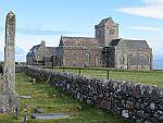 De abdij op Iona, Schotland