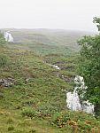 Allt Chreaga Dubha waterval, Mull, Schotland