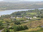 Uitzicht op Dervaig, Schotland