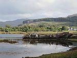 Bootwrakken in de Salen baai, Schotland