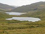 Meren langs de A849, Schotland
