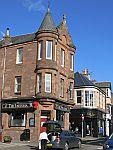 Grappig gebouw in Crieff, Schotland