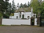 Gatelodge van Kinpurnie kasteel, Schotland