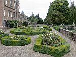 Tuinen van Glamis kasteel, Schotland