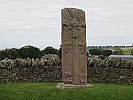 Pictische steen bij Aberlemno, Schotland