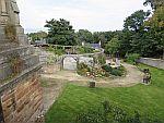 De Rose Garden in Tain, Schotland