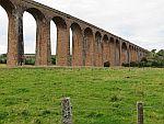 Het Culloden viaduct bij Dalroy, Schotland