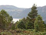 Loch Ness vanaf de oostkant, Schotland