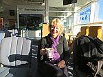 Een laatste bak Schotse koffie, Inverness airport, Schotland