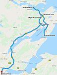 Route 27 september 2015, Schotland