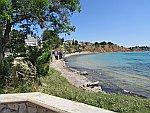 Strandje bij Nea Potidea op Kassandra, Griekenland