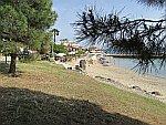 Paliouri strand op Kassandra, Griekenland