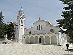 St Nicolaas kerk in Polygyros, Griekenland