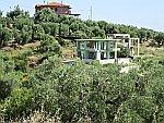 Onafgebouwde huizen, Sithonia, Griekenland