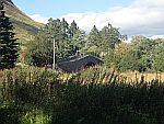 Oude brug over Shee Water bij Glenshee, Schotland