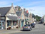 Straatje in Aboyne, Schotland