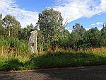 Gedenksteen langs de B9119, Schotland
