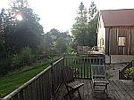 Ons terras in Forbestown Lodge, Schotland