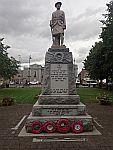 Standbeeld in Inverurie, Schotland