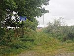 Handig zo'n bordje, Clyde trail car park, Schotland