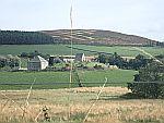 Begraafplaats bij Glenkindie, Schotland