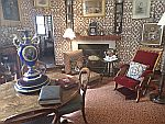 Lounge in kasteel Fraser, Schotland