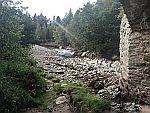 De Avon rivier bij Fodderletter, Schotland