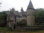 Een verlaten gatelodge, Schotland