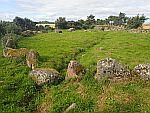 De steencirkel bij Moyness, Schotland