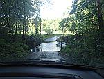 Even de weg checken, ergens bij Auldearn, Schotland