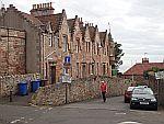 Straatje in Crail, Schotland