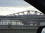 The Forth Road Bridge bij Edinburgh, Schotland