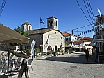 Pleintje bij Ag. Dimitrios in Afytos, Kassandra, Griekenland