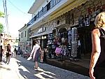Winkelstraat in Afytos, Griekenland