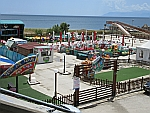 Pretpark in Alexandroupolis, Griekenland