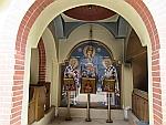 Portiek van de St. Nikolaas kerk, Griekenland