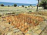 Amphora's in de grond, Zoni, Griekenland