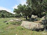 Het gebied bij antiek Ismara, Griekenland