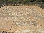 Mozaiek bij Maroneia, Griekenland
