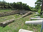 Romeinse agora bij Maroneia, Griekenland