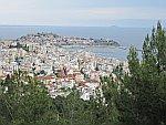 Uitzicht op Kavala, Griekenland