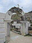 Poort bij het theater van Filippi, Griekenland