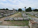 De Romeinse markt van Filippi, Griekenland