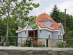 Kerkje bij Kalyva, Griekenland