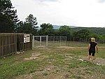 De vindplaats van Stavroupolis-Komnina is afgesloten, Griekenland