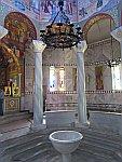 In de kerk van St Lydia, Griekenland