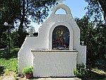Icoon bij de Bapistry van St Lydia, Griekenland