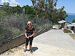 Omhoog wandelen naar antiek Stageira, Griekenland